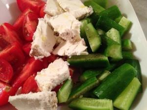 Israeli Veggie Plate