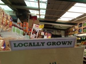 Sigona Locally Grown Sign